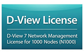 Thiết bị mạng D-Link | D-View 7 Network Management System (NMS) License for 1000 Nodes D-Link DV-700-N1000-LIC