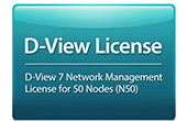 Thiết bị mạng D-Link | D-View 7 Network Management System (NMS) License for 50 Nodes D-Link DV-700-N50-LIC