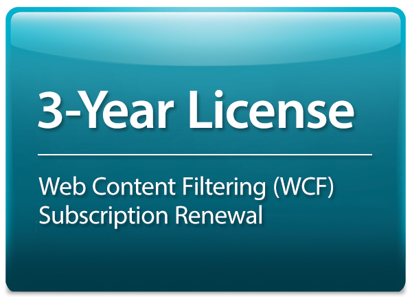 3-year License for DFL-870 supporting Web Content Filtering D-Link DFL-870-WCF-36-LIC