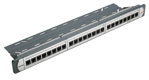24-port Patch panel CAT5E SCHNEIDER