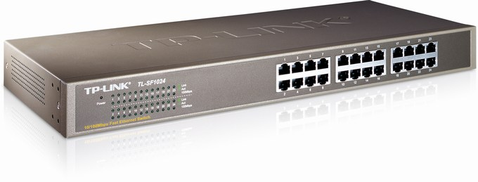 24-Port 10/100Mbps Switch TP-LINK TL-SF1024