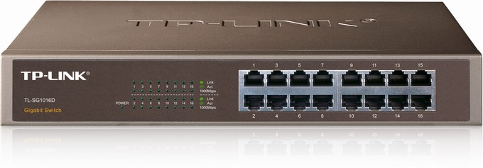 16-Port Gigabit Switch TP-LINK TL-SG1016D