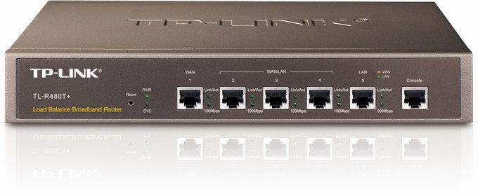 Load Balance Broadband Router TP-LINK TL-R480T+