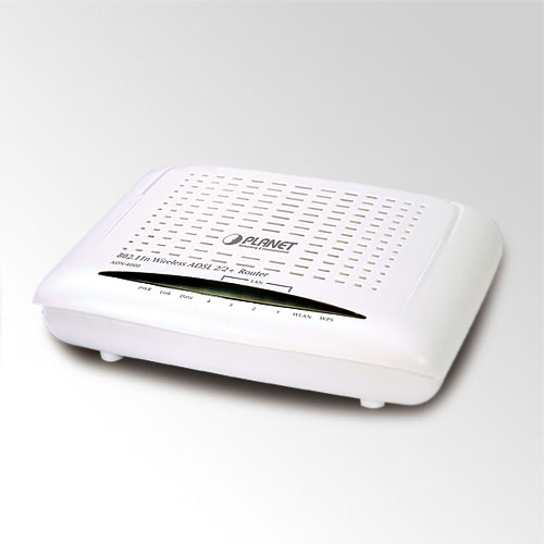 ADSL 2/2+ 4-Port Router PLANET ADE-4400A