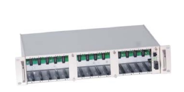 Fibre Optical Transceiver Rack VIVANCO SC160-1
