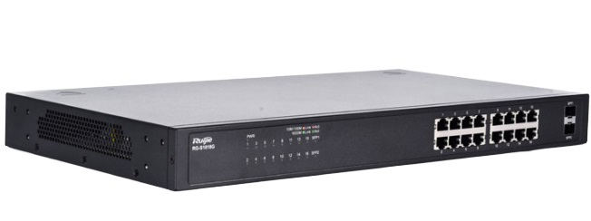 16-port 10/100/1000 Base-T Unmanaged Switch RUIJIE RG-S1818G