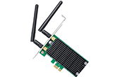 Thiết bị mạng TP-LINK | AC1200 Wireless Dual Band PCI Express Adapter TP-Link Archer T4E