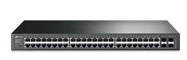 JetStream 48-Port Gigabit Smart Switch with 4 SFP Slots TP-LINK T1600G-52TS