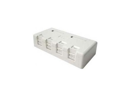 4-Port Surface Mount Box LS-SMB-4PORT