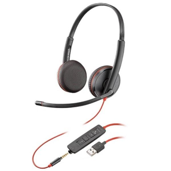 Tai nghe Headset Plantronics C3225 USB-A (209747-201)