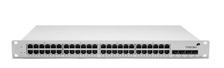 48-Port 10/100/1000Base-T Ethernet Cloud Managed Switch Meraki Cisco MS42