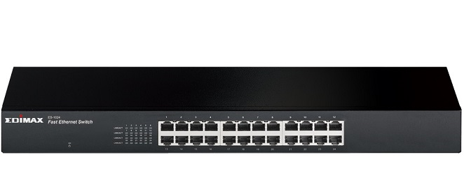 24-Port 10/100Mbps Rack-mount Switch EDIMAX ES-1024