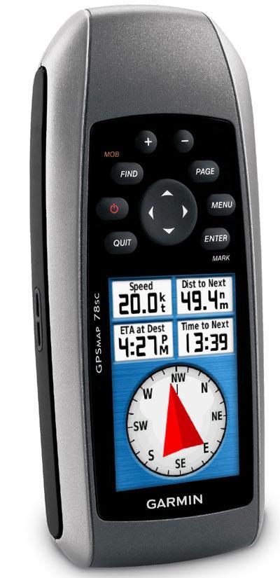 Máy định vị cầm tay GPS Garmin GPSMAP 78SC