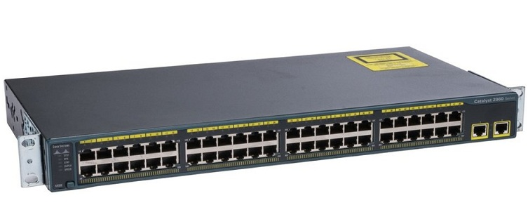 Switch CISCO Catalyst 2960 WS-C2960-48TT-L - SIEU THI VIEN THONG