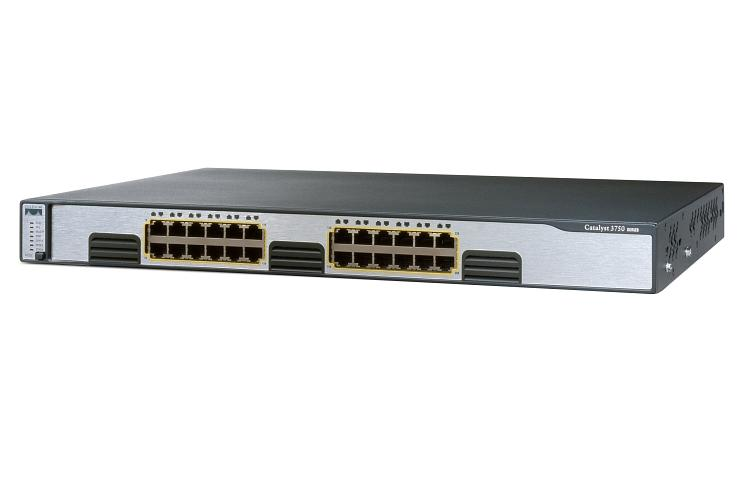 Switch CISCO Catalyst 3750 WS-C3750G-24T-S