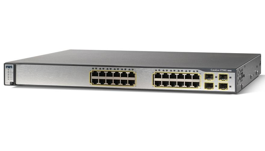 Switch CISCO Catalyst 3750 WS-C3750G-24TS-E1U