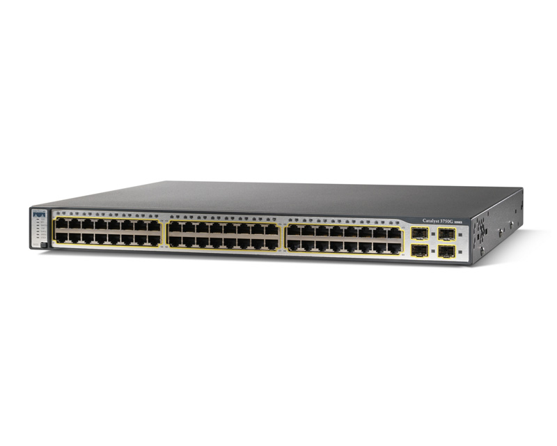 Switch CISCO Catalyst 3750 WS-C3750G-48PS-E