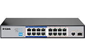Thiết bị mạng D-Link | 16-Port Fast Ethernet PoE Switch D-Link DES-F1017P