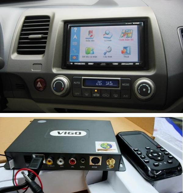Thiết bị dẫn đường GPS VIGO TOUCH 9100