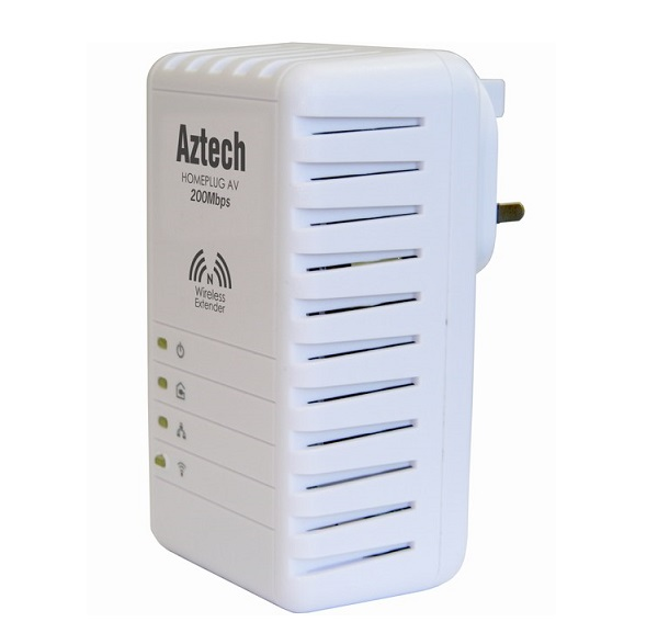 HomePlug AV 2-port Wireless-N AZTECH HL110EW
