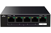 Switch PoE UNV | 4-Port 10/100Mbps Ethernet PoE Switch UNV NSW2010-5T-POE-IN