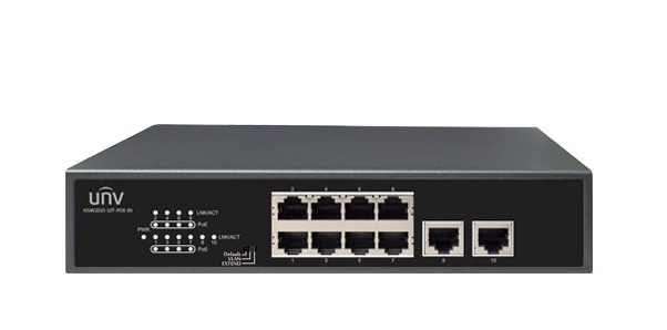 8-Port 10/100Mbps Ethernet PoE Switch UNV NSW2010-10T-POE-IN