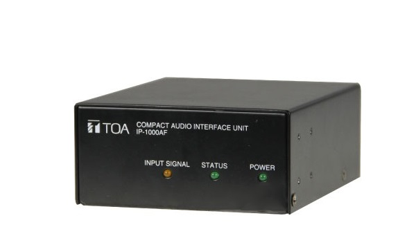 Compact Audio Interface Unit TOA IP-1000AF