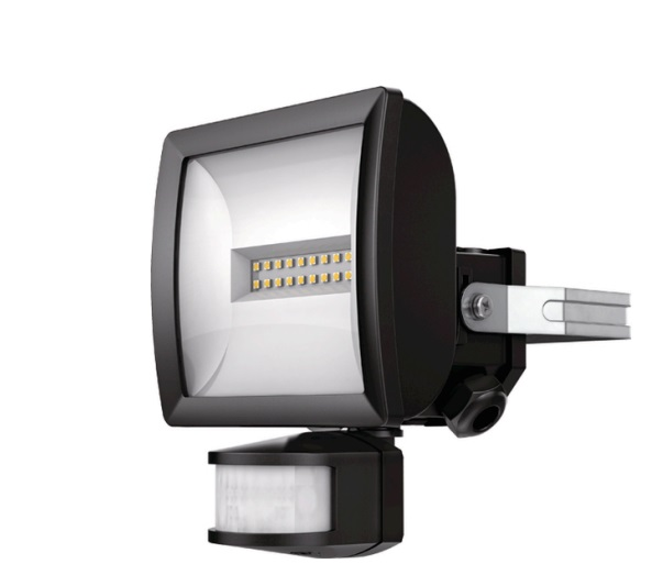 LED Spotlights with Motion Detector THEBEN theLeda EC10 BK