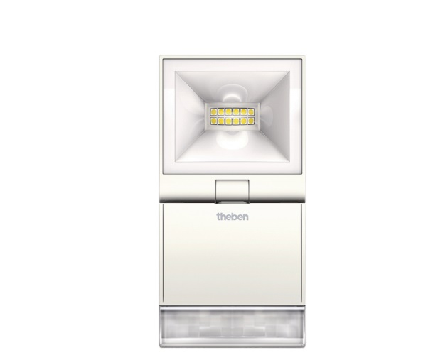 LED Spotlight with Motion Detector THEBEN theLeda S10 WH