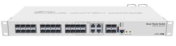 Smart Switch Gigabit Mikrotik CRS328-4C-20S-4S+RM - SIEU THI VIEN THONG