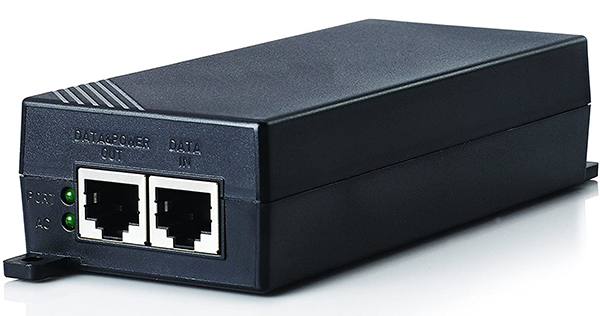 10/100Mbps PoE Injector HDTEC (PoE adapter 24VDC)