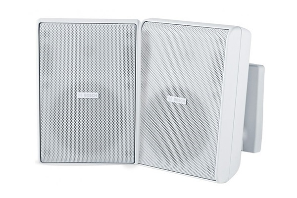 Cabinet speaker 5 inch 8 Ohm white pair BOSCH LB20-PC75-5L