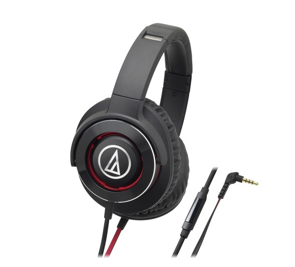 Solid Bass Over-Ear Headphones Audio-technica ATH-WS770iS