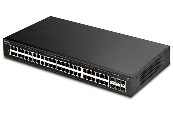 54-Port Layer2+ Managed Gigabit Switch Draytek VigorSwitch G2540x