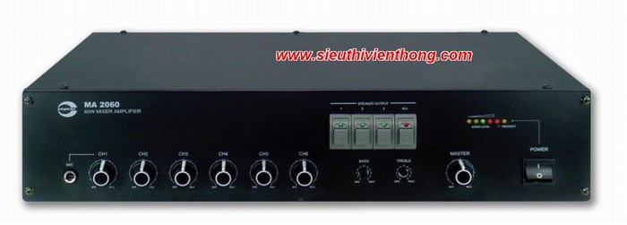Mixer Amplifier AMPERES MA2060
