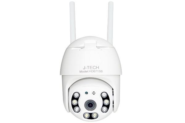 Camera IP Speed Dome không dây hồng ngoại 2.0 Megapixel J-TECH HD6715B