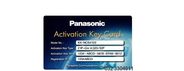 Activation key IP Trunk PANASONIC KX-NCS4102