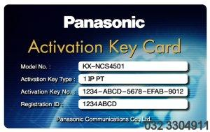 Activation key IP-PT PANASONIC KX-NCS4501