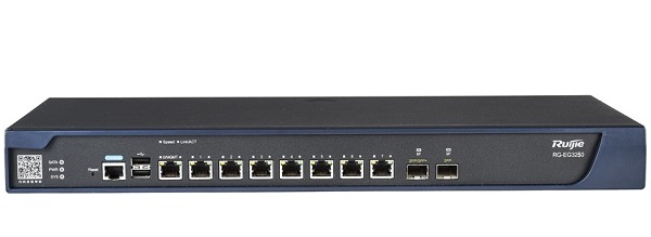 10-port Gigabit Cloud Managed Gataway RUIJIE RG-EG3230