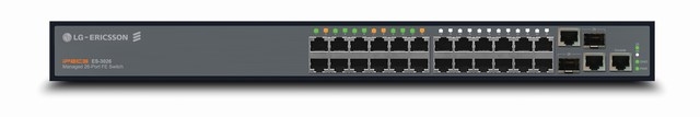 24-port Managed Switch LG-ERICSSON ES-3026
