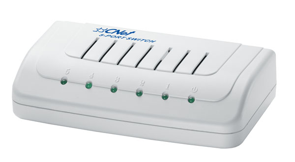 5 port 10/100Mbps Switch CNet CSH-500