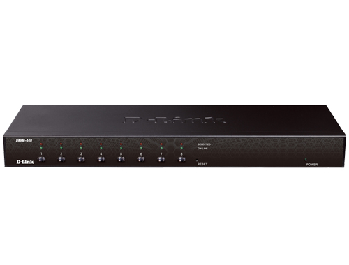 PS2/USB 8 Port Combo KVM Switch D-Link DKVM-440