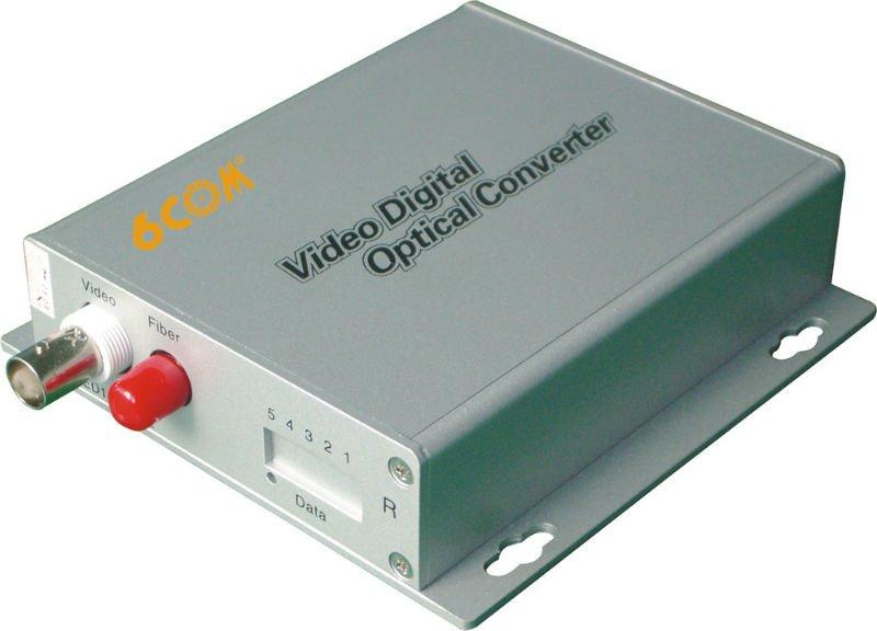 Chuyển đổi Quang-Điện Video 6COM 6C-S1V-1D
