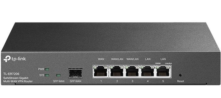 SafeStream Gigabit Multi-WAN VPN Router TP-LINK TL-ER7206