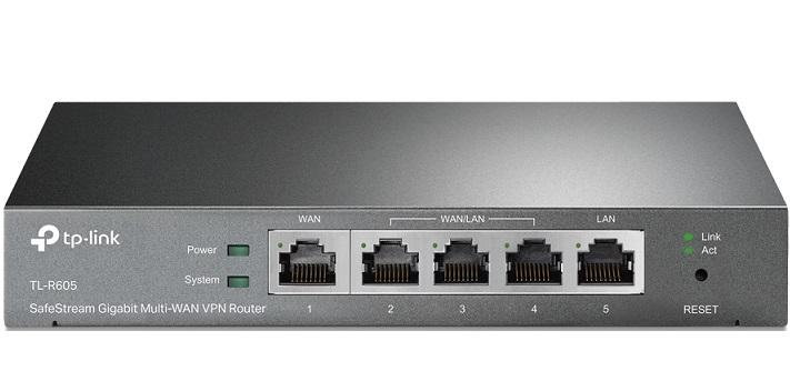 SafeStream Gigabit Multi-WAN VPN Router TP-LINK TL-R605
