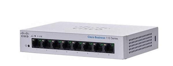 Bộ chuyển mạch không quản lý 8 cổng Gigabit Ethernet CISCO CBS110-8T-D-EU