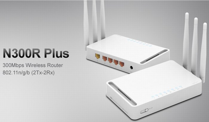 Wireless Router TOTOLINK N300R Plus