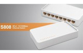 Thiết bị mạng TOTOLINK | 8 ports 10/100Mbps Switch TOTOLINK S808