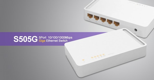 5 ports 10/100/1000Mbps Switch TOTOLINK S505G