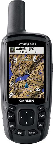 Máy định vị cầm tay GPS Garmin GPSMAP 62sc